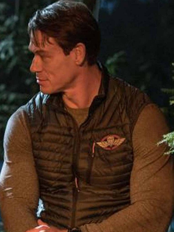 Playing with Fire John Cena Puffer Vest