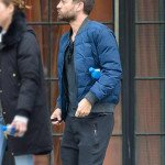 Spider-Man No Way Home Tobey Maguire Blue Puffer Jacket