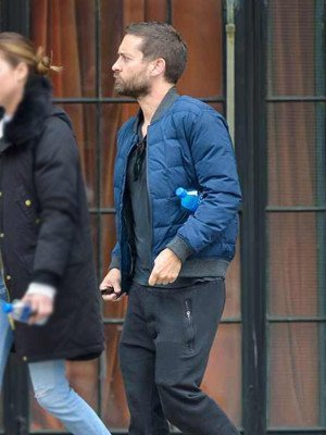 Spider-Man No Way Home Tobey Maguire Puffer Jacket