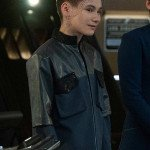 Star Trek Discovery Gray Tal Leather Jacket