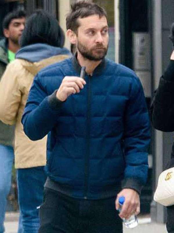 Tobey Maguire Spider-Man No Way Home Blue Jacket