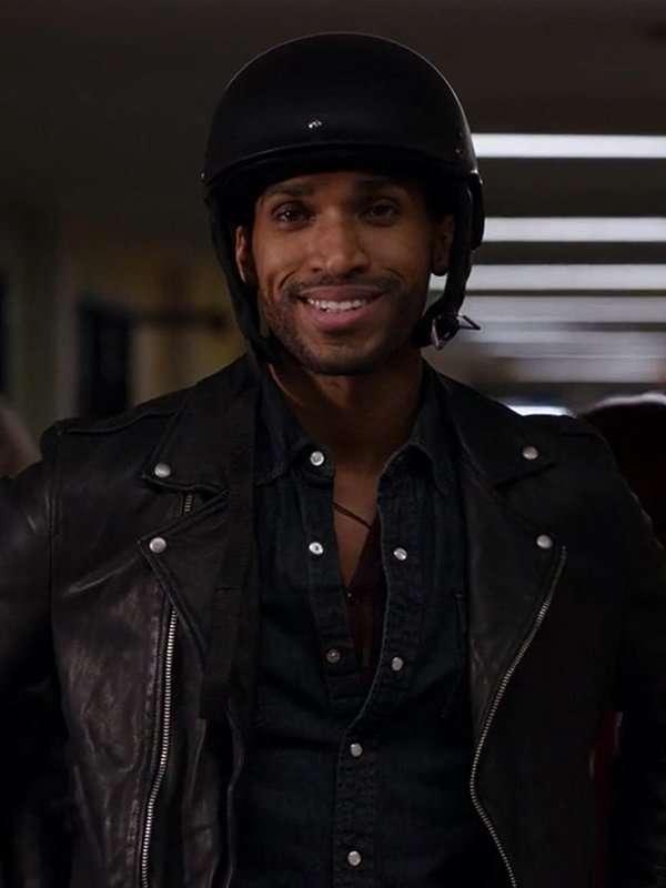 Zion Ginny & Georgia Black Biker Jacket