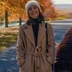 Alessandra Mastronardi Master Of None Trench Coat