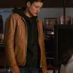Bartosz Tiedemann Dark Brown Leather Jacket