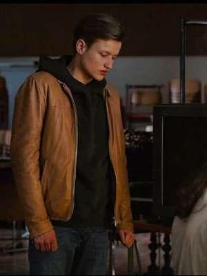 Dark Paul Lux Brown Leather Jacket
