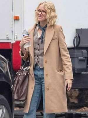 Naomi Watts Boss Level Jemma Wells Trench Coat