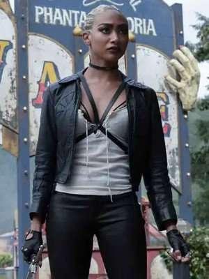 Tati Gabrielle Leather Jacket