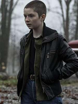 Lachlan Watson Leather Jacket