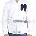 Christopher Comstock Marshmello White Jacket