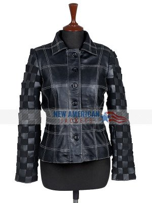 Emma Stone Cruella de Vil Leather Jacket
