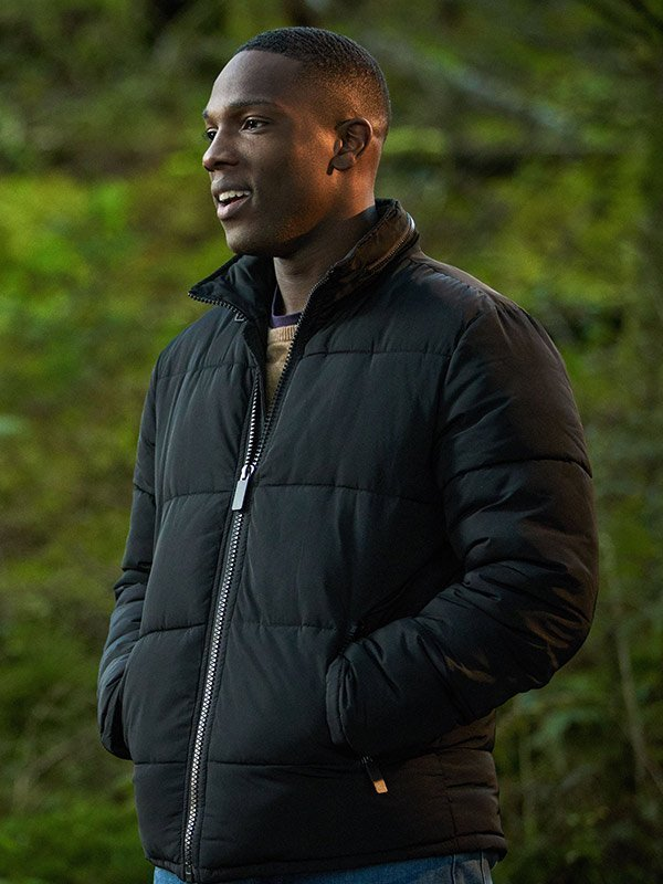 Doctor Who Tosin Cole Black Jacket