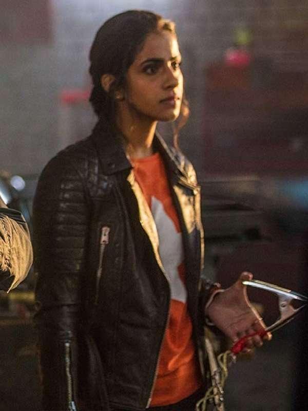 Doctor Who Yasmin Khan Leather Jacket