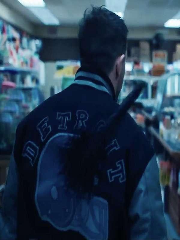 Eddie Brock Detroit Lions Jacket