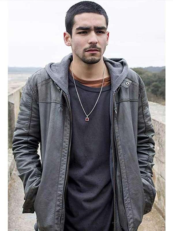 Elite Omar Gray Leather Jacket