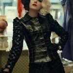 Emma Stone Cruella 2021 Black Leather Jacket