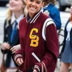 Gossip Girl Jordan Alexander Letterman Jacket