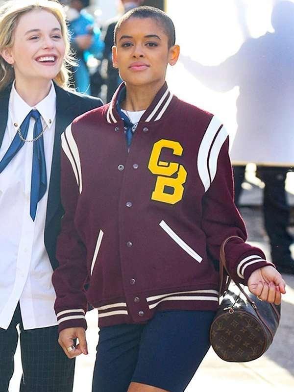 Gossip Girl Jordan Alexander Varsity Jacket