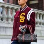Gossip Girl Julien Calloway Varsity Jacket