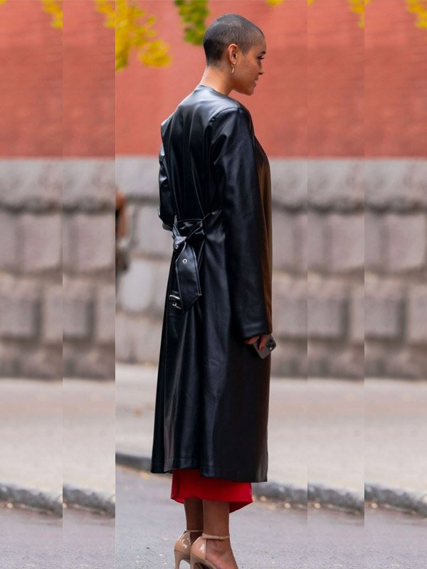 Jordan Alexander Black Coat