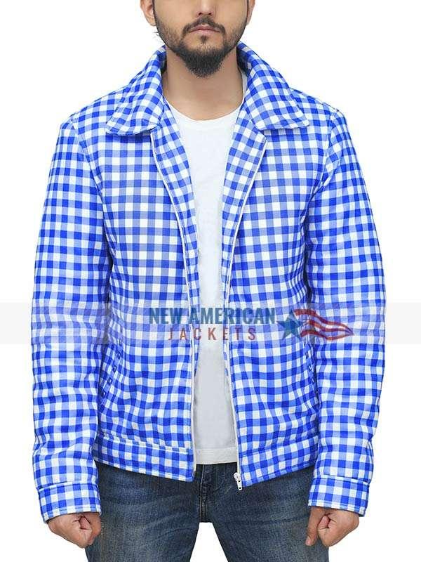 Justin Bieber AMA 2021 Blue Jacket