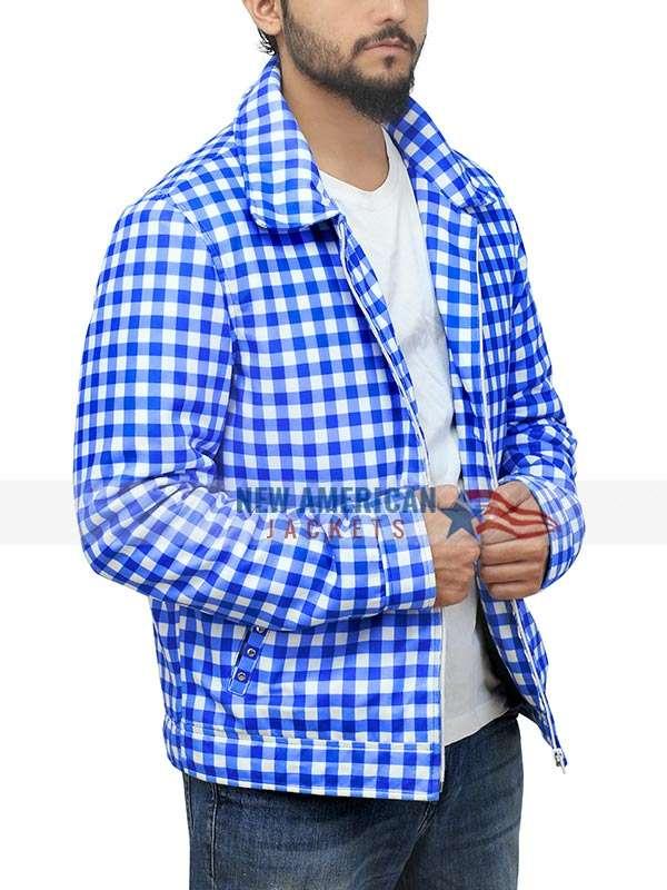 Justin Bieber American Music Awards of 2020 Checkered Jacket