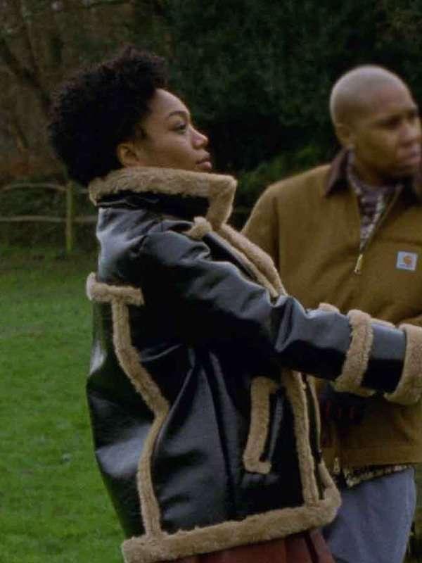 Lena Waithe Master of None Leather Jacket