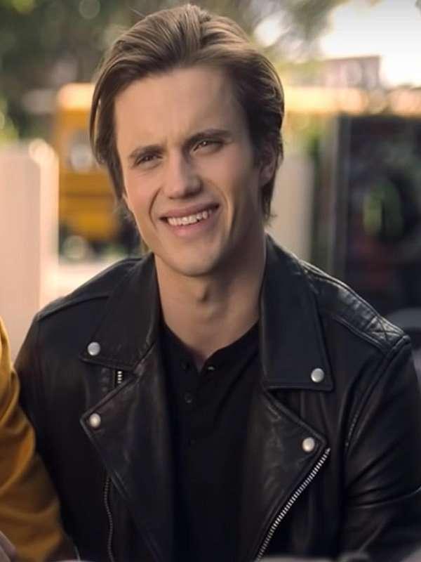 Love Victor Season 2 Benjamin Benji Campbell Black Leather Jacket