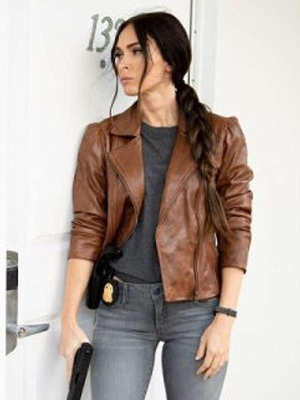 Megan Fox Midnight in the Switchgrass Brown Jacket