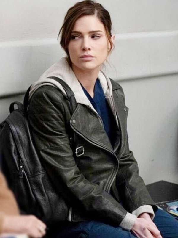 New Amsterdam Dr. Lauren Bloom Black Leather Jacket