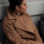 New Amsterdam Jeanie Bloom Brown Wool Coat
