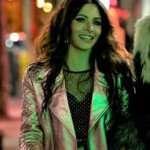 Sarah Shahi Biker Jacket