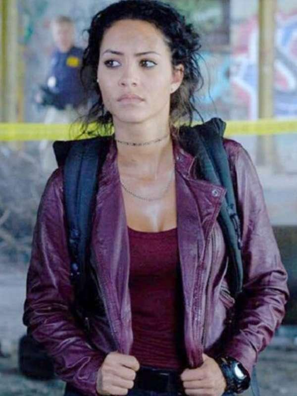 Tristin Mays MacGyver Leather Jacket