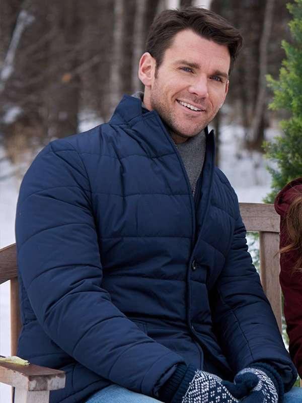 Winter Love Story Elliot Blue Puffer Jacket