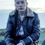Druig Eternals Barry Keoghan Black Leather Jacket
