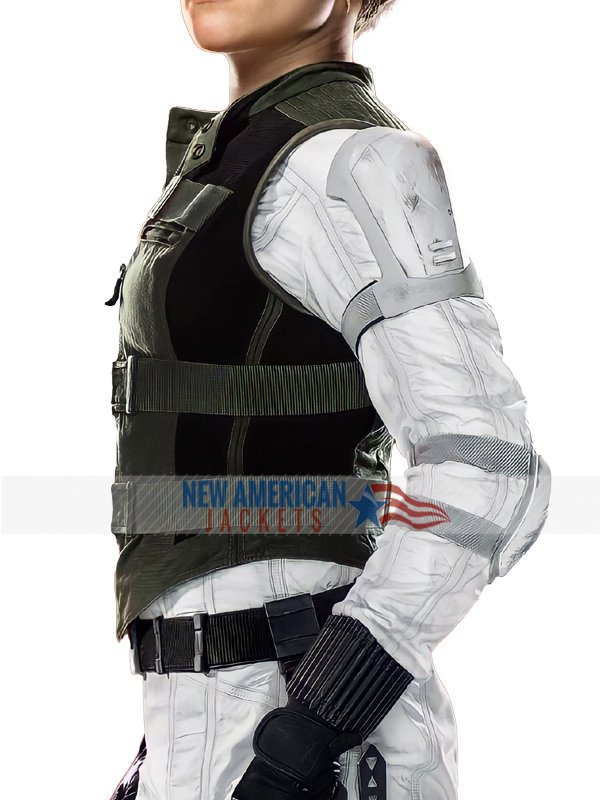 Black Widow Yelena Belova Green Vest