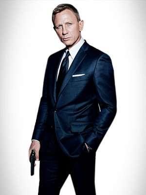 Spectre Daniel Craig Sharkskin Suit