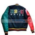 Donovan Mitchell HBCU Pride Varsity Jacket