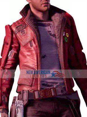 2021 Guardians of the Galaxy Star Lord Game Jacket
