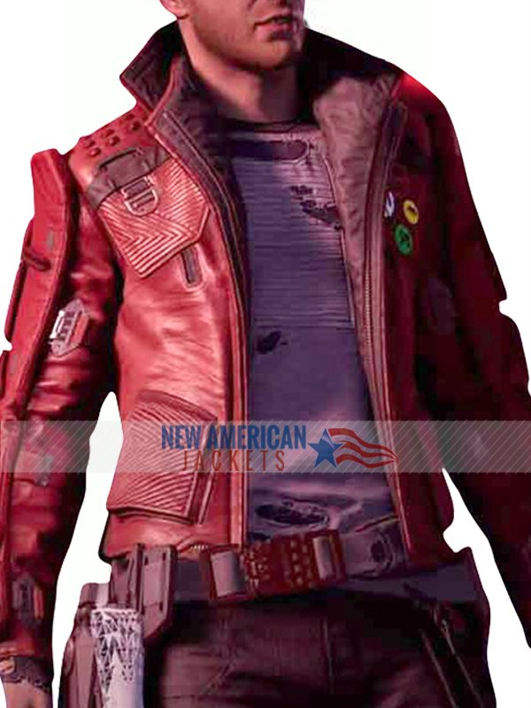 Guardians of the Galaxy Star Lord Game Jacket