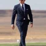 James Bond Spectre Daniel Craig Navy Blue Suit
