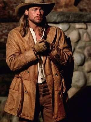 Brad Pitt Legends of The Fall Brown Jacket