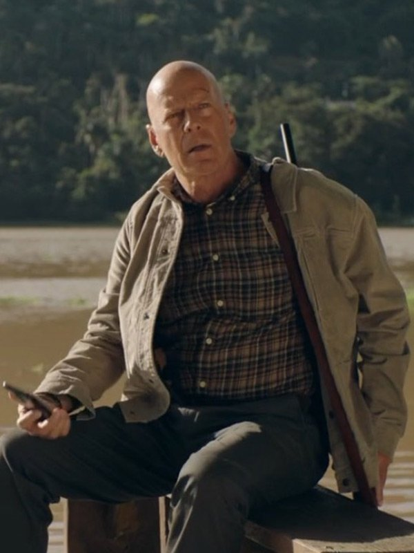 Out of Death Bruce Willis Cotton Jacket