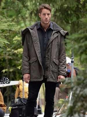 Justin Hartley Gray Jacket