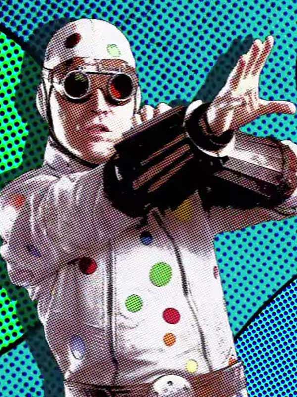 The Suicide Squad Polka-Dot Man Jacket