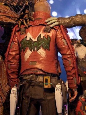 Star Lord 2021 Game Leather Jacket