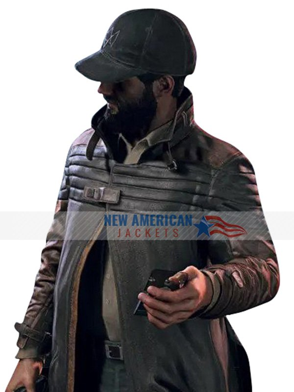 Watch Dogs Legion Bloodline Aiden Pearce Trench Coat