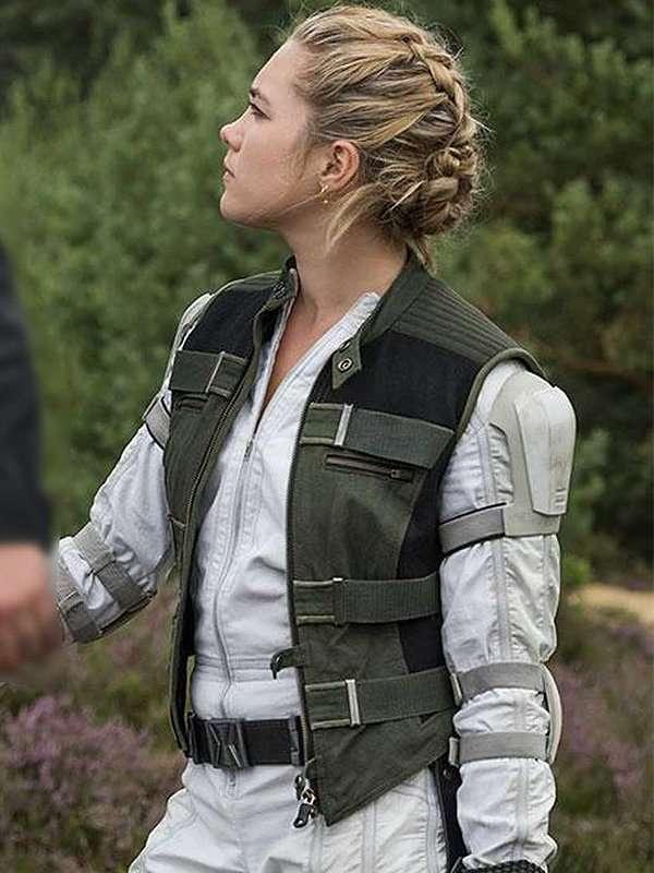 Yelena Belova Black Widow Cotton Vest