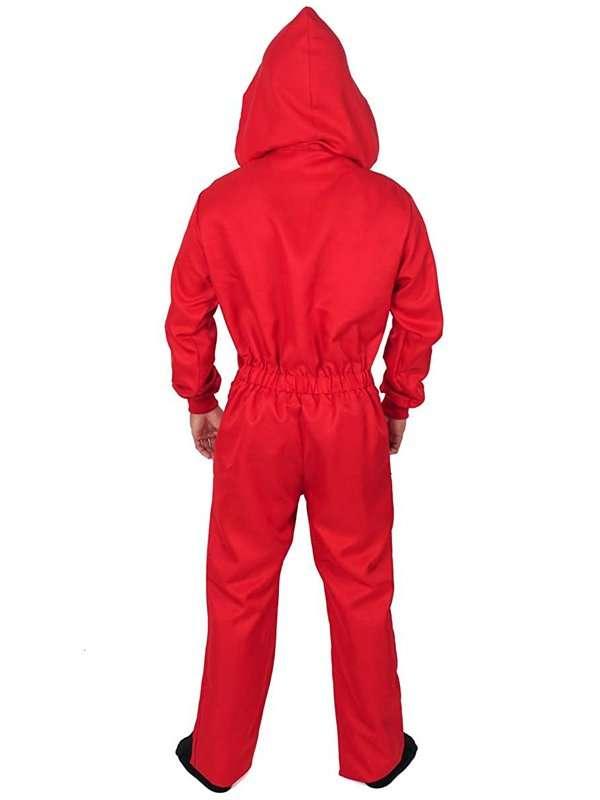 money heist costume jumpsuit