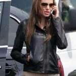 Angelina Jolie Leather Jacket