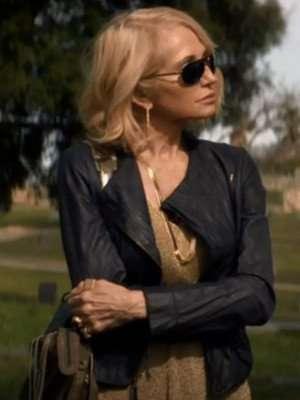 Animal Kingdom Janine Cody Black Leather Jacket